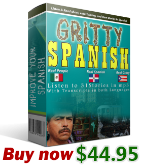 Buy Gritty Spanish and Improve your Spanish
