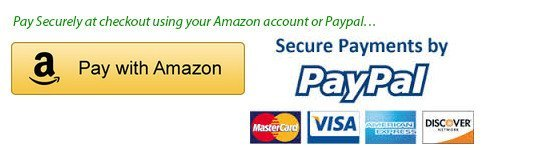 Pay Securely at check out using your Amazon account or Paypal