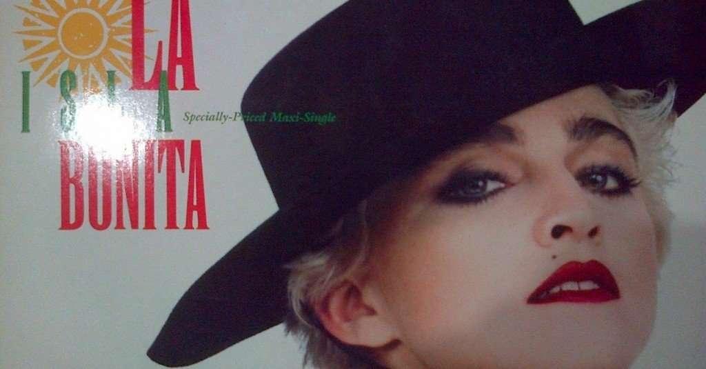 Madonna La isla bonita lyrics in Spanish and English