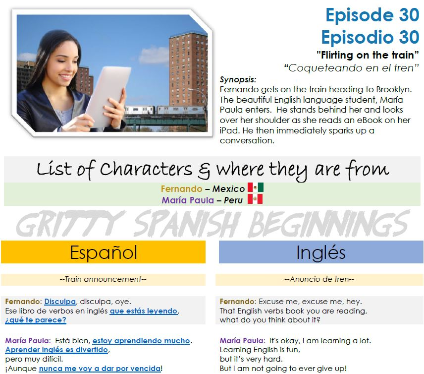Spanish Immersion with Fun Spanish Learning Audios From The