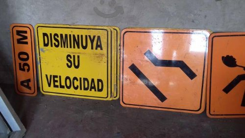 Disminuya su Velocidad - Reduce your Speed in Spanish